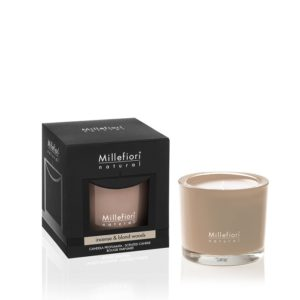 MM Natural Incense and Blond Woods Scented Candle