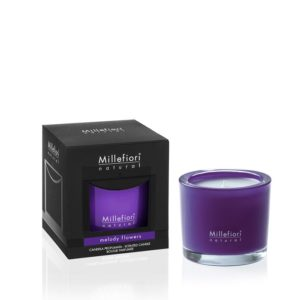 MM Natural Melody Flowers Scented Candle