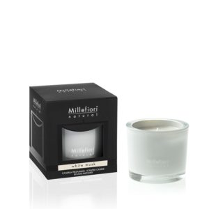 MM Natural White Musk Scented Candle